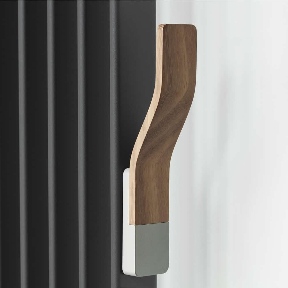 Wooden Radiator Hanger Hook