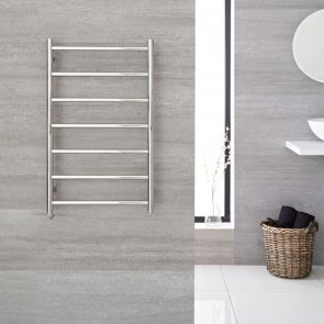"Quo Electric - Stainless Steel Towel Warmer - 31.5"" x 19.75"""
