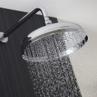 "12"" Apron Shower Head With Wall Arm"