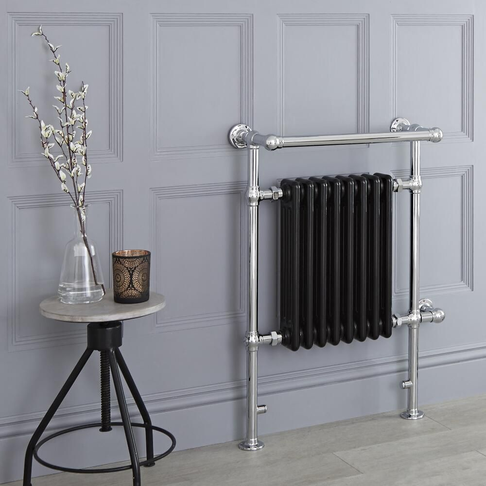 Marquis Electric Black Traditional Heated Towel Warmer