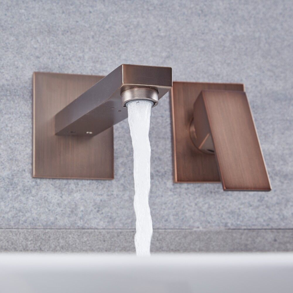 Single Hole Wall Mounted Bathroom Faucet
