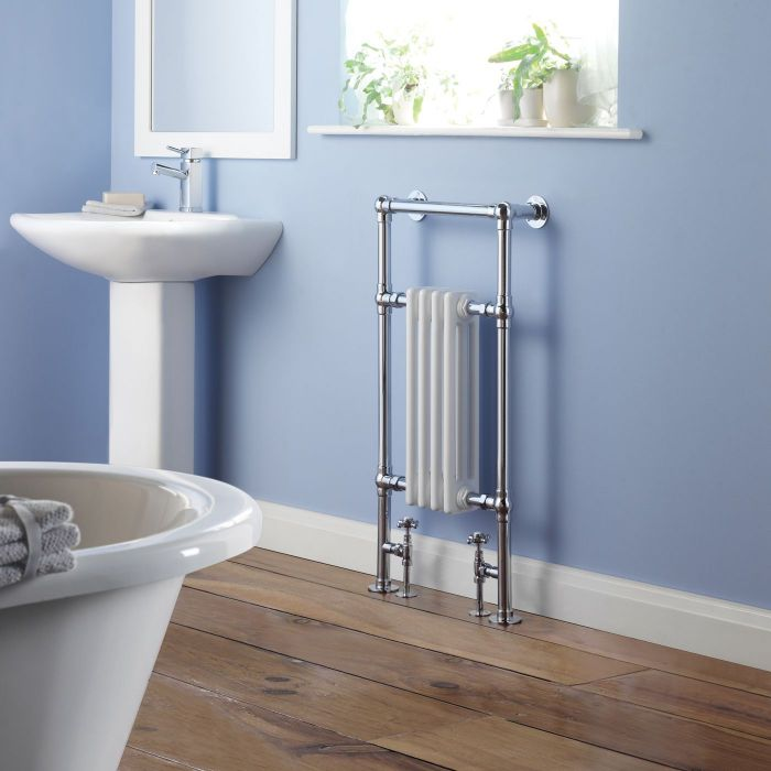 """Marquis - Traditional Hydronic Heated Towel Warmer - 36.5"""" x 17.75"""""""