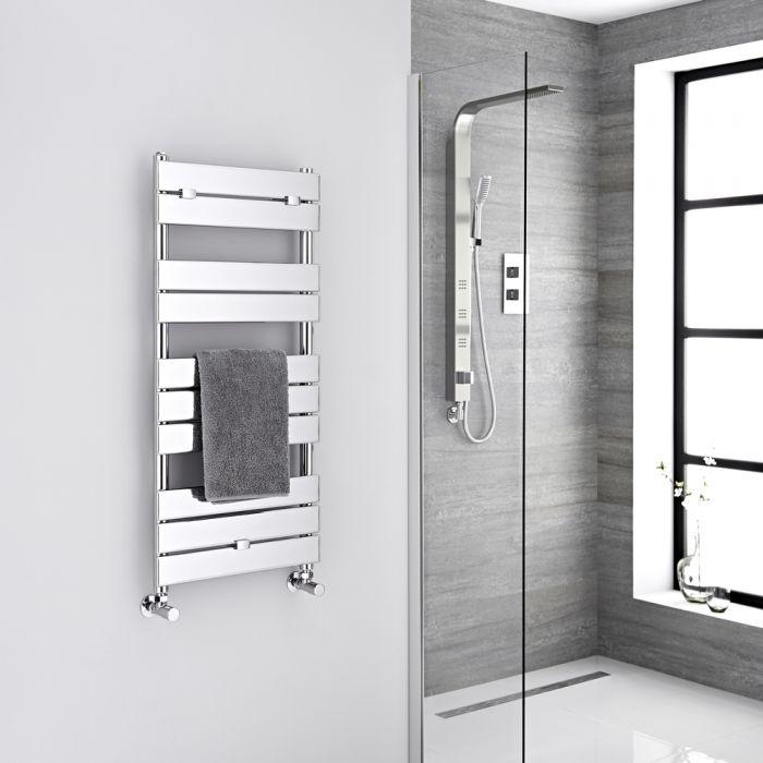 "Lustro  - Hydronic Chrome Heated Towel Warmer - 39.25"" x 17.75"""