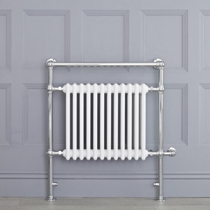 """Marquis Electric  - White Traditional Heated Towel Warmer - 36.75"""" x 31.25"""""""