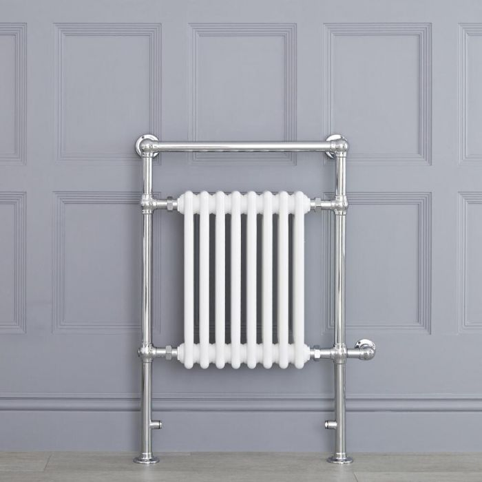 Marquis Electric  - White Traditional Heated Towel Warmer - 36.75