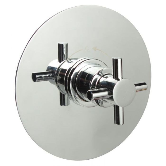"""3/4"""" Sequential Valve, Round Plate & Modern Crosshead Handle"""