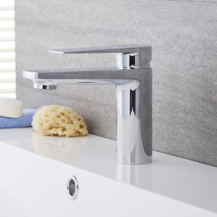 Arcadia - Chrome Single-Hole Bathroom Faucet