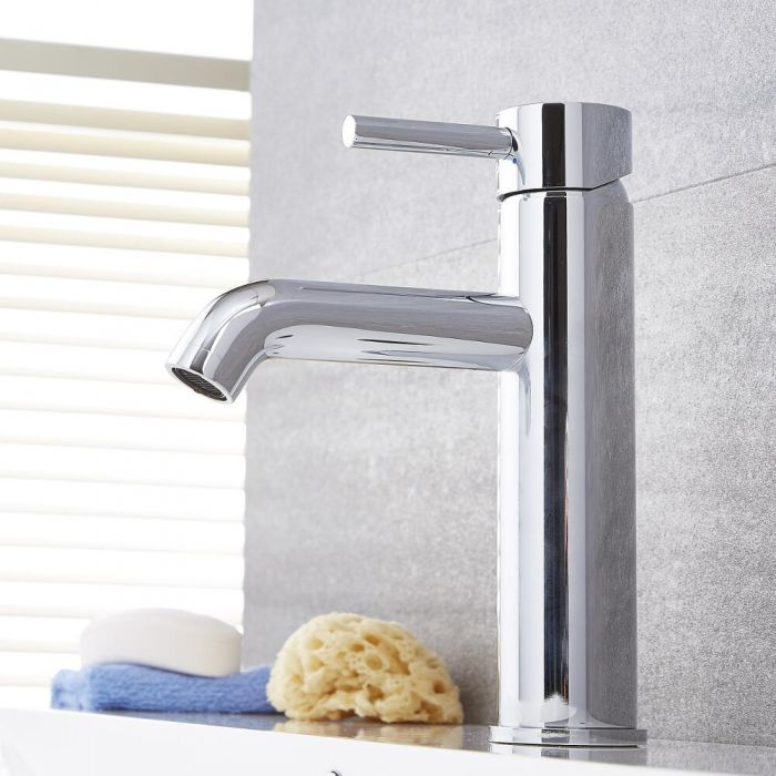 Quest Chrome Single Hole Bathroom Faucet
