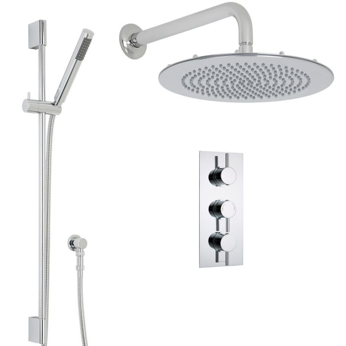 Quest Thermostatic Shower System with 12