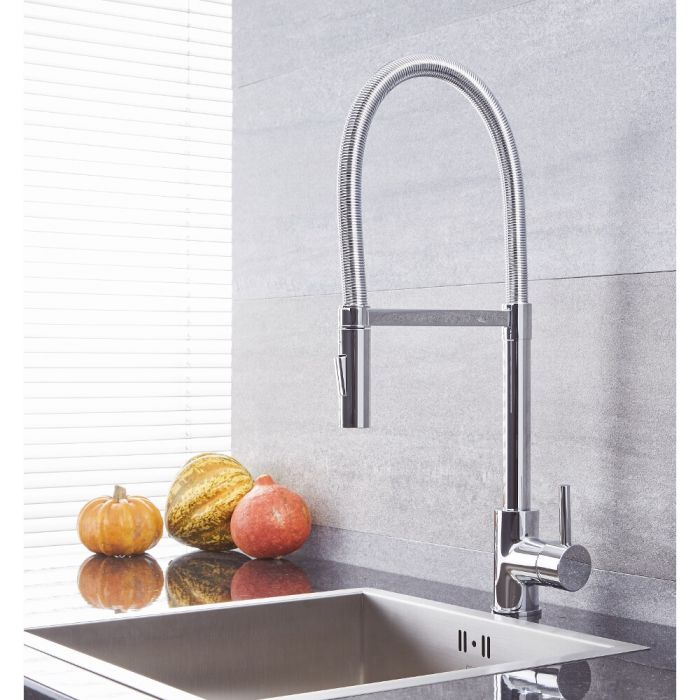 Quest - Chrome Single-Hole Kitchen Faucet