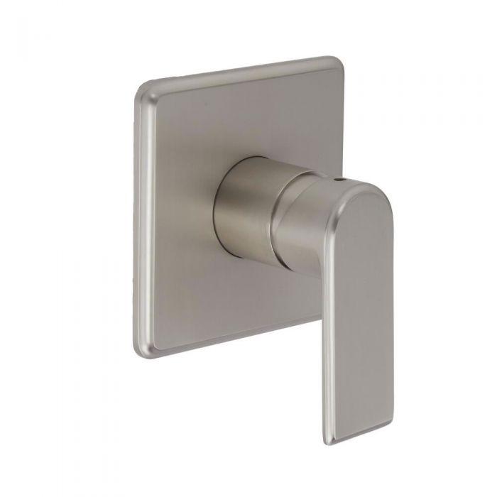 Eclipse - Brushed Nickel Manual Shower Valve - One Outlet