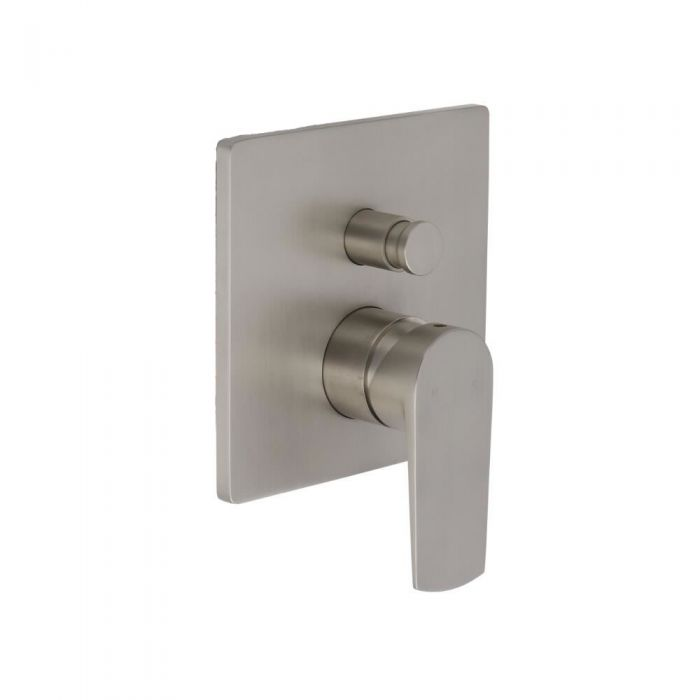 Eclipse - Brushed Nickel Manual Shower Valve with Diverter - Two Outlet
