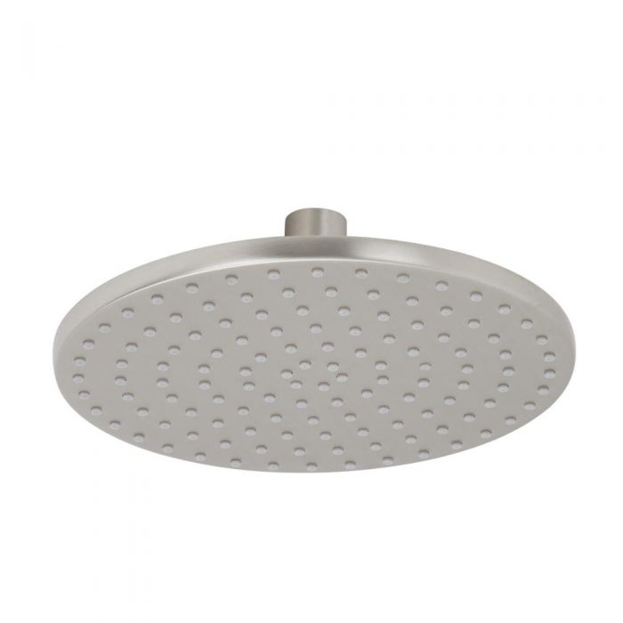 "Eclipse - Brushed Nickel 8"" Round Shower Head"
