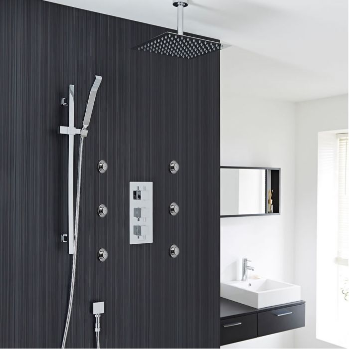 Valquest Thermostatic Shower System with 12