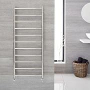 "Quo  - Stainless Steel Towel Warmer - 47.25"" x 19.75"""