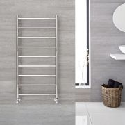 "Quo  - Stainless Steel Towel Warmer - 47.25"" x 23.75"""