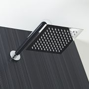 "8"" Square Shower Head with Wall Arm"