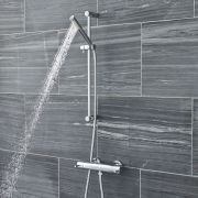 Modern Thermostatic Bar Shower Valve with Hand Shower