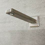 Eclipse - Brushed Nickel Wall-Mounted Tub Spout