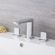 Arcadia - Widespread Chrome Bathroom Faucet