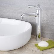 Colworth - Traditional Chrome Single-Hole Vessel Faucet
