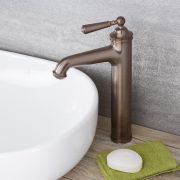 Colworth - Traditional Oil-Rubbed Bronze Single-Hole Vessel Faucet