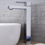 Kubix - Chrome Single-Hole Vessel Faucet