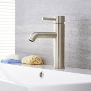 Quest - Brushed Nickel Single-Hole Bathroom Faucet
