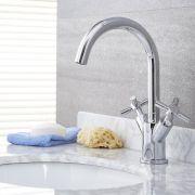 Tec - Chrome Single-Hole Bathroom Faucet