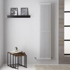 """Roma - White Vertical Designer Radiator - 70.75"""" x 17.5"""""""