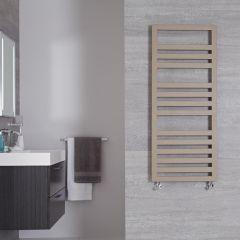 "Firenze - Mineral Quartz Hydronic Designer Towel Warmer - 47.25"" x 19.75"""