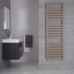 "Firenze - Mineral Quartz Hydronic Designer Towel Warmer - 63"" x 19.75"""