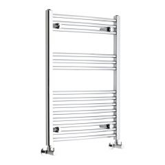 "Etna - Hydronic Chrome Heated Towel Warmer - 31.5"" x 23.5"""