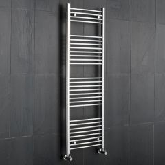 "Linosa - Hydronic Chrome Heated Towel Warmer - 59"" x 19.75"""