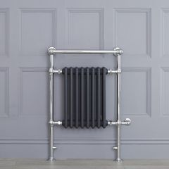 "Marquis Electric  - Anthracite Traditional Heated Towel Warmer - 36.75"" x 24.5"""