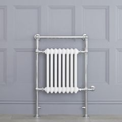 """Marquis Electric  - White Traditional Heated Towel Warmer - 36.75"""" x 24.5"""""""