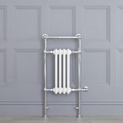 """Marquis Electric  - White Traditional Heated Towel Warmer - 36.75"""" x 17.75"""""""