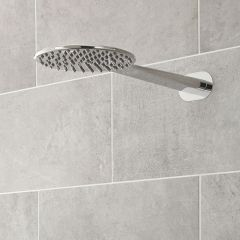 Paddle Shower Head - Chrome Plated Solid Brass