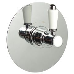"3/4"" Sequential Valve, Round Plate & Traditional Lever Handle"