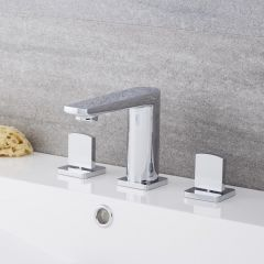 Arcadia - Widespread Chrome Bathroom Faucet