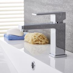 Kubix - Chrome Single-Hole Bathroom Faucet