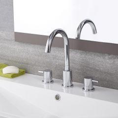 Quest -  Chrome Widespread Bathroom Faucet