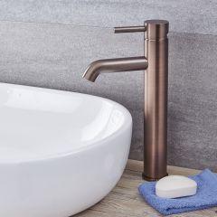 Quest - Oil-Rubbed Bronze Single-Hole Vessel Faucet