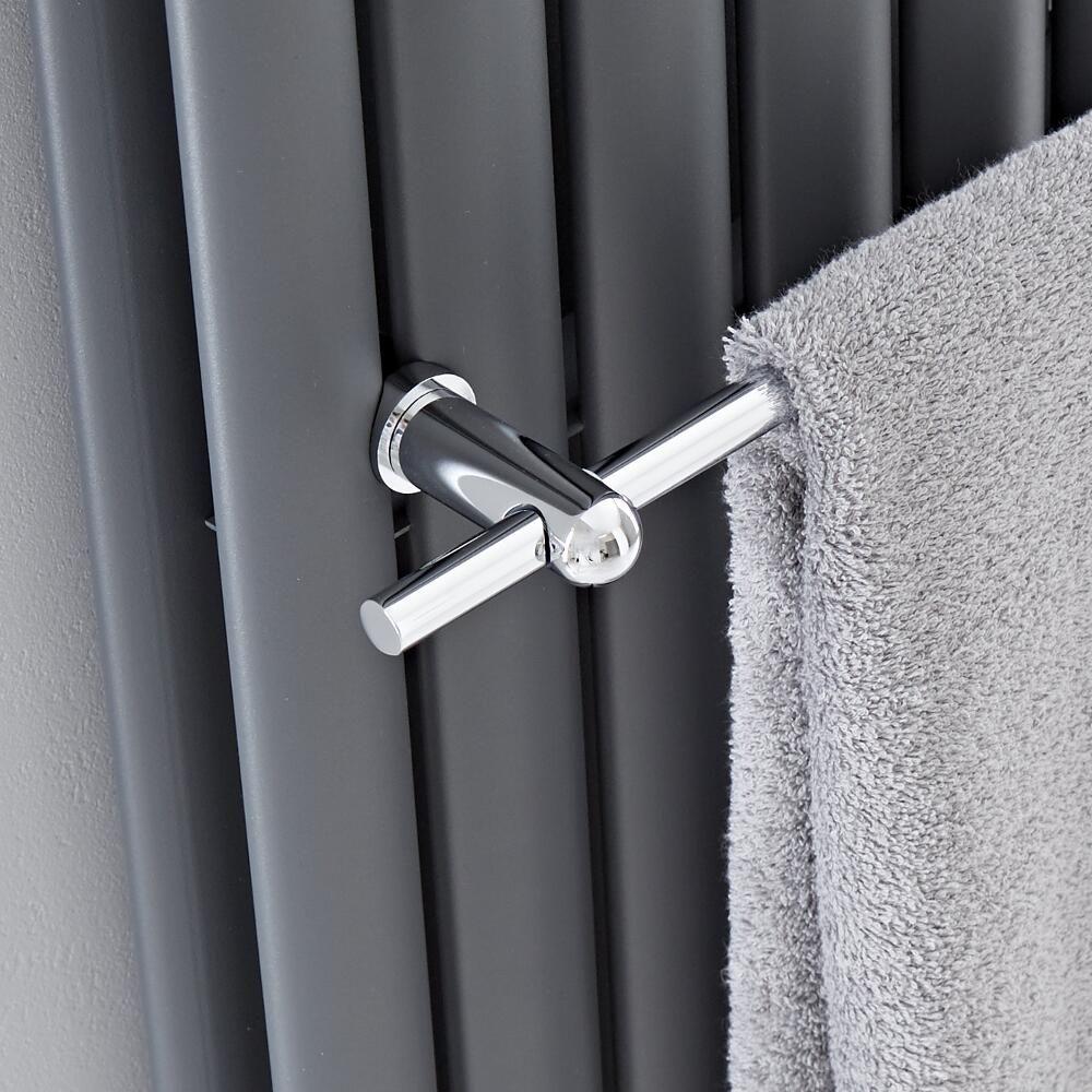 Hudson Reed - Chrome Towel Rail for Revive Vertical ...