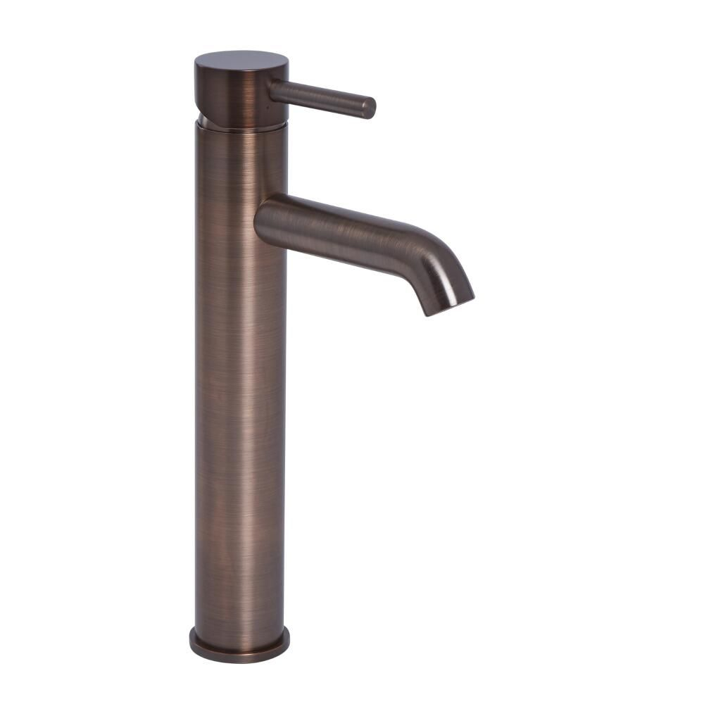 Oil Rubbed Bronze Single Hole Vessel Faucet