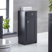 "Charlton - 16"" Anthracite Traditional Storage Cabinet"