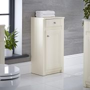 "Charlton - 16"" Ivory Traditional Storage Cabinet"