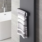 "Hudson Reed Wall Mounted Towel Rail - 12.5"" x 2.25"""