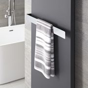 "Hudson Reed Wall Mounted Towel Rail - 24.5"" x 2.25"""