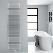 "Arch - White Hydronic Heated Towel Warmer - 70.75"" x 19.75"""